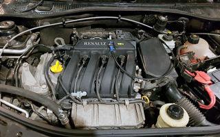 Замена ГРМ Рено Логан 16 клапанов на двигателе К4М