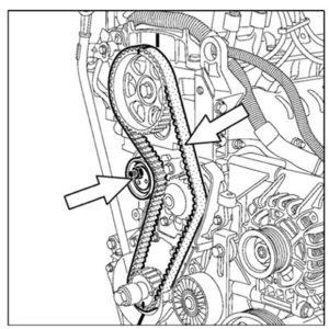 Схема ГРМ К7М