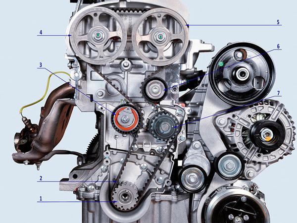 схема двигателя к4м
