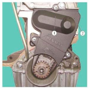 Защитная крышка на двигателе К7М