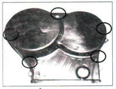 Верхняя крышка грм