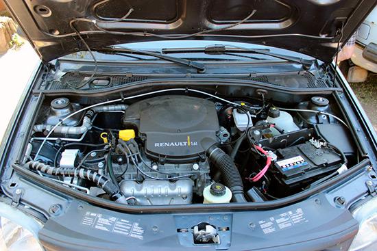 1,6 MPi двигатель на Renault Logan
