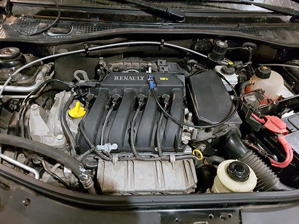 Рено Логан с двигателем К4М